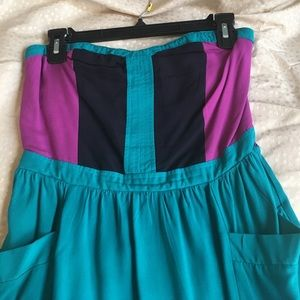 Tube top dress. Size M