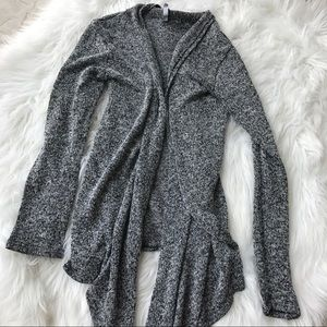 Love culture heathered gray sweater XS