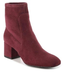 Kenneth Cole Burgundy Nikki Bootie Red wine ankle