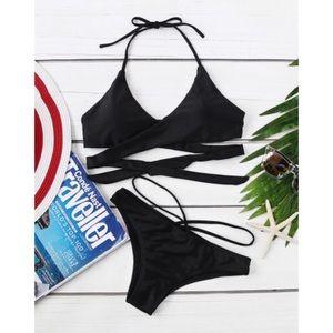 Other - Halter wrap bikini