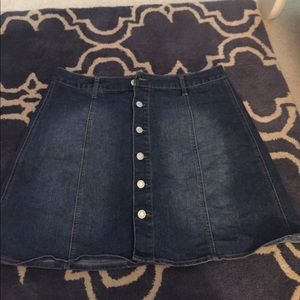 Mossimo denim skirt