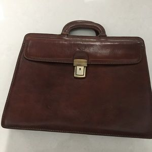 Matedetti Toscani Handmade Leather Briefcase