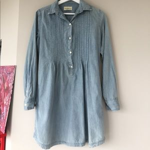 Jean tunic top/dress