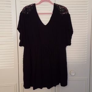 Liz Lange Maternity Black Tunic Size XXL