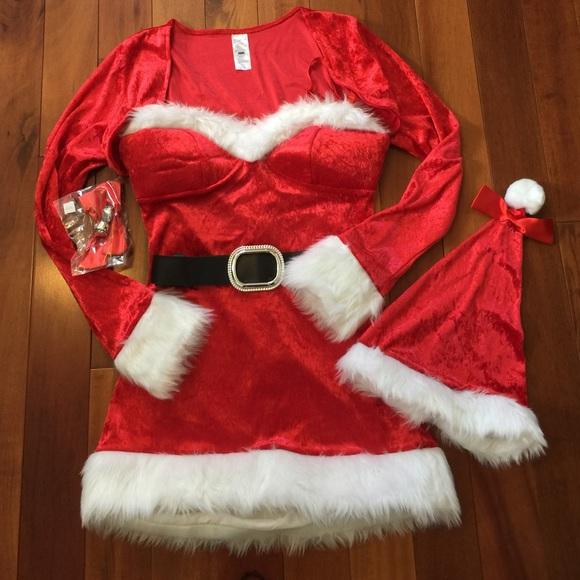 Dreamgirl Womens Santa Baby Costume