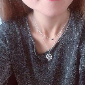 2e446b492 Tiffany & Co. Jewelry - Tiffany Diamond Daisy Key Pendant 18