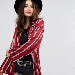 🆕Relaxed Satin Pajama Jacket