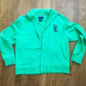 Ralph Lauren sweatshirt style jacket.
