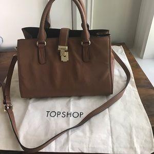 💥final drop!TopShop leather 3 in 1 handbag