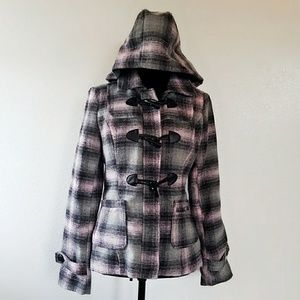 [ Wet seal ] plaid jacket