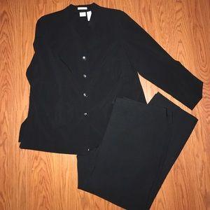 😊Emma James Jacket size 18w and Black Pants!