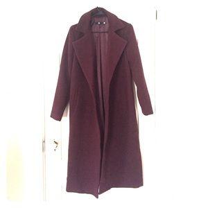 ASOS longline coat