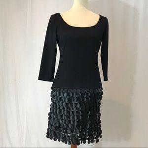Muse Black Shift Dress