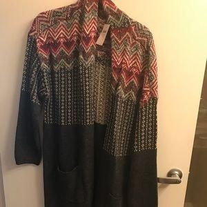 JJill sweater coat