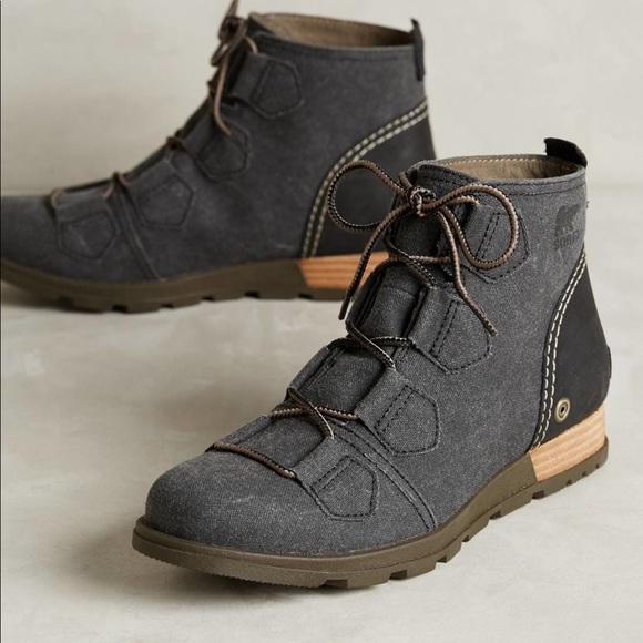 Sorel Major low lace up boots grey sz 7.5 new 4417c90b450