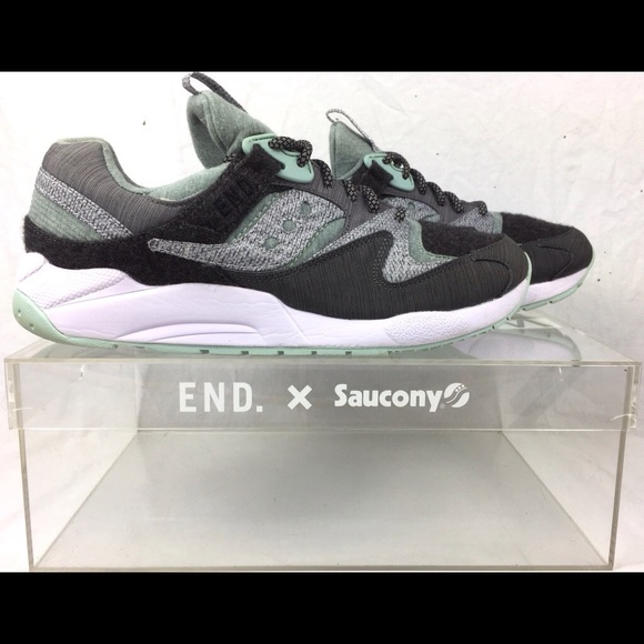 12b62277d33e End. x Saucony Grid 9000