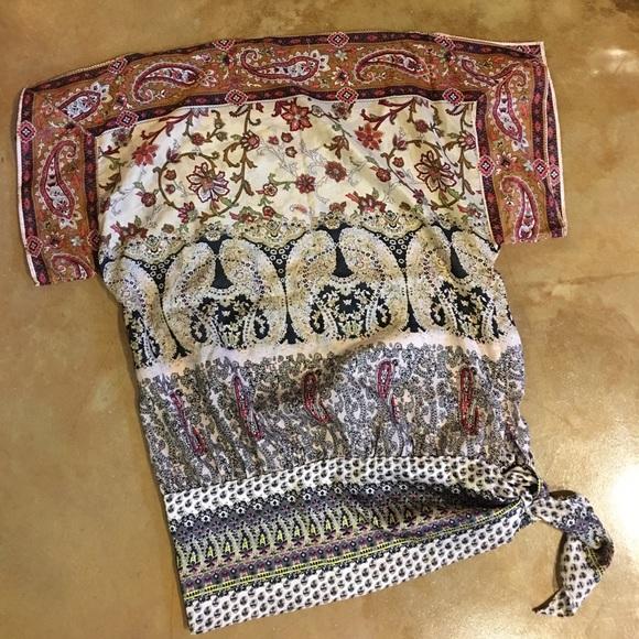 Forever 21 Tops - Boho Handkerchief Blouse, Size M