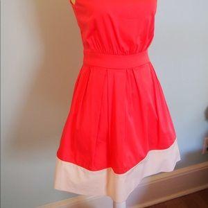 Cynthia Rowley A-Line Dress with Asymmetrical Neck