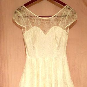 Delicate White Lace