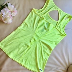 🍍2 for $10! neon yellow dri fit work out tank
