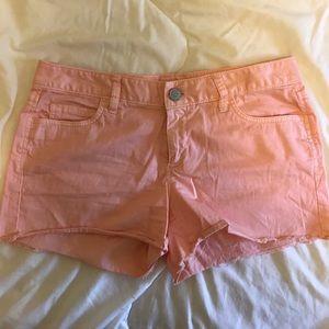Pink/coral LOFT shorts