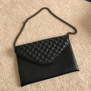 JCREW black shoulder bag