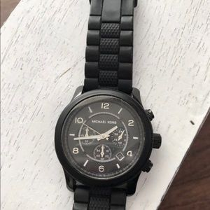 Men's Black Michael Kors Watch