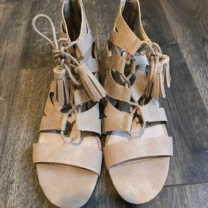 Gladiator Tassel Sandals