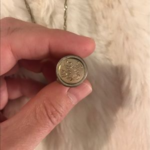 Like New JewelMint stamp Necklace