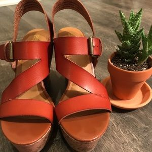 Cognac Wedges from Target