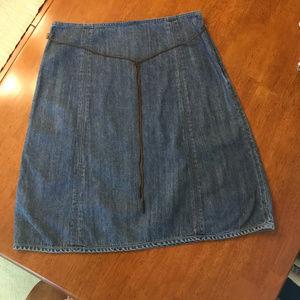 DKNY Jean Skirt - Size 8