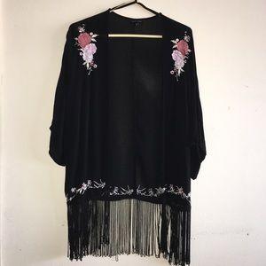 New Look black kimono