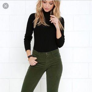 J . Crew Green corduroy favorite fit jeans 20 9R