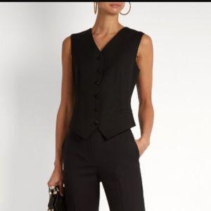 Dolce Gabbana Black Vest