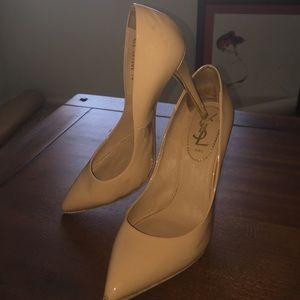 Yves Saint Laurent Nude Heels