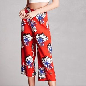 Pixie & Diamond Abstract Culottes (Forever 21)