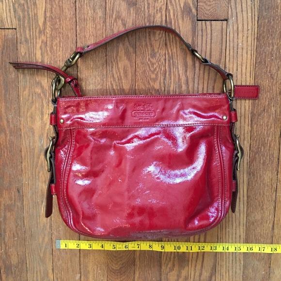 bdedd7aff3e3 Coach Handbags - Coach Zoe Hobo Patent Leather Bag E0873-12735