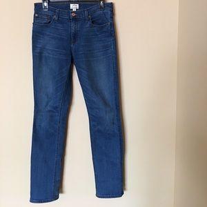 J.Crew Matchstick jeans in Preston wash