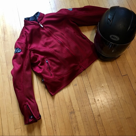 joe rocket Jackets & Blazers - ⬇️$70 Red Joe Rocket Motorcycle Jacket w/ Liner