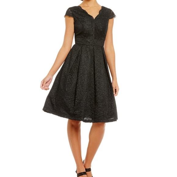 651f0bafc93 Leslie Fay Lace Dress