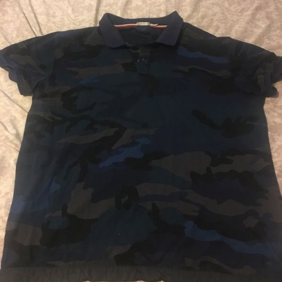 Moncler Other - Moncler blue camo polo