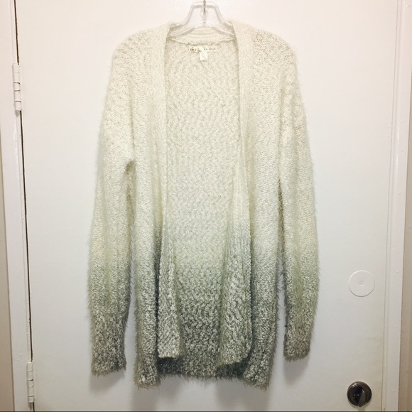 d041bc75df5 Soft fuzzy Cardigan Sweater by kaisely