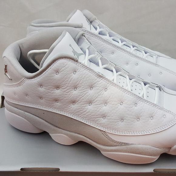 b6d4c9d3f4f Air Jordan Shoes | Nike Retro 13 Xiii Low Pure Money | Poshmark