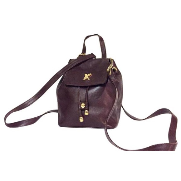 e9b45a4d5 Paloma Picasso Bags | Brown Leather Mini Backpack | Poshmark