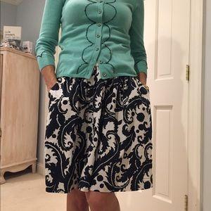 BR cotton skirt