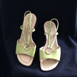 Montego Bay club green mint sandals