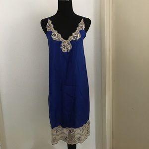 Vintage style lace slip dress