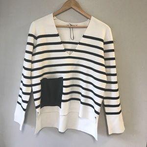 Zara V knit sweater