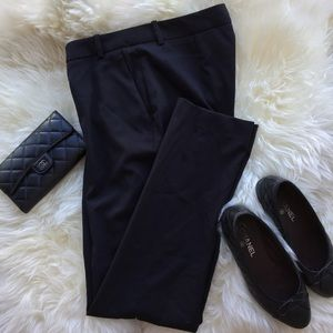 H&M black straight leg dress pants