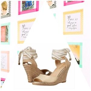 Lilly Pulitzer Tie Up Wedges